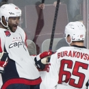 Ward's 3rd-period goal lifts Caps over Canadiens The Associated Press