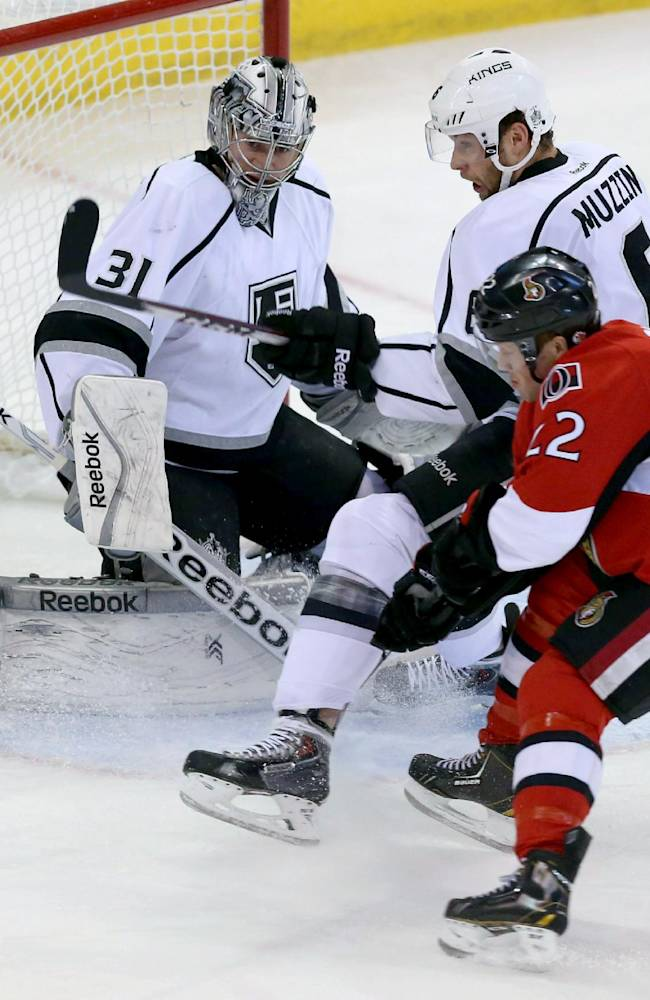Anze Kopitar leads Kings past Senators, 5-2