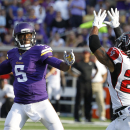 Vikings QB Bridgewater leaves with ankle injury The Associated Press