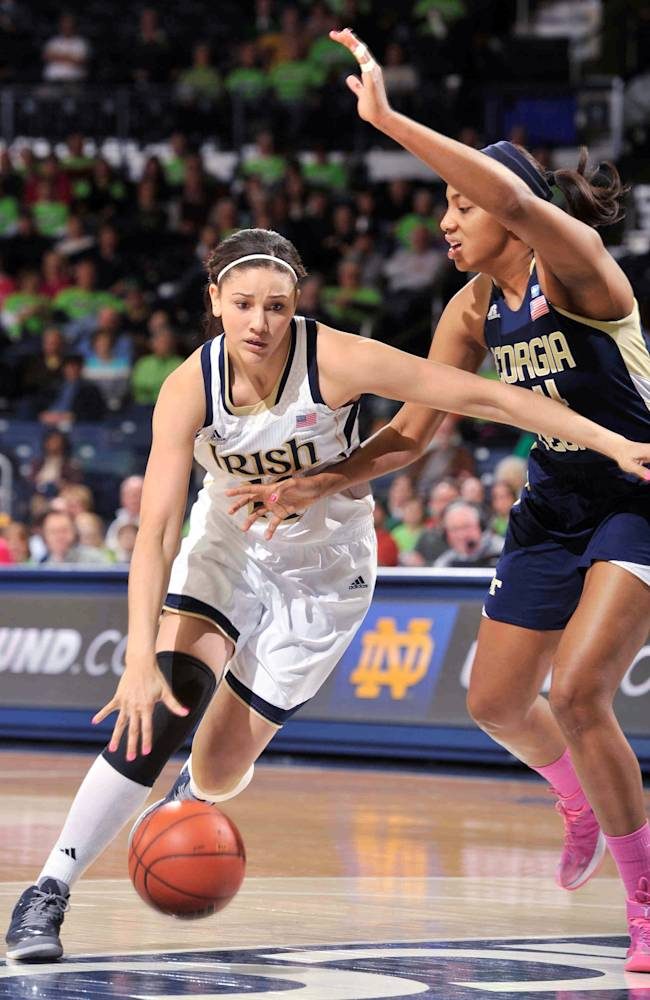 Loyd's 27 leads No. 2 Irish to 87-72 win Ga. Tech