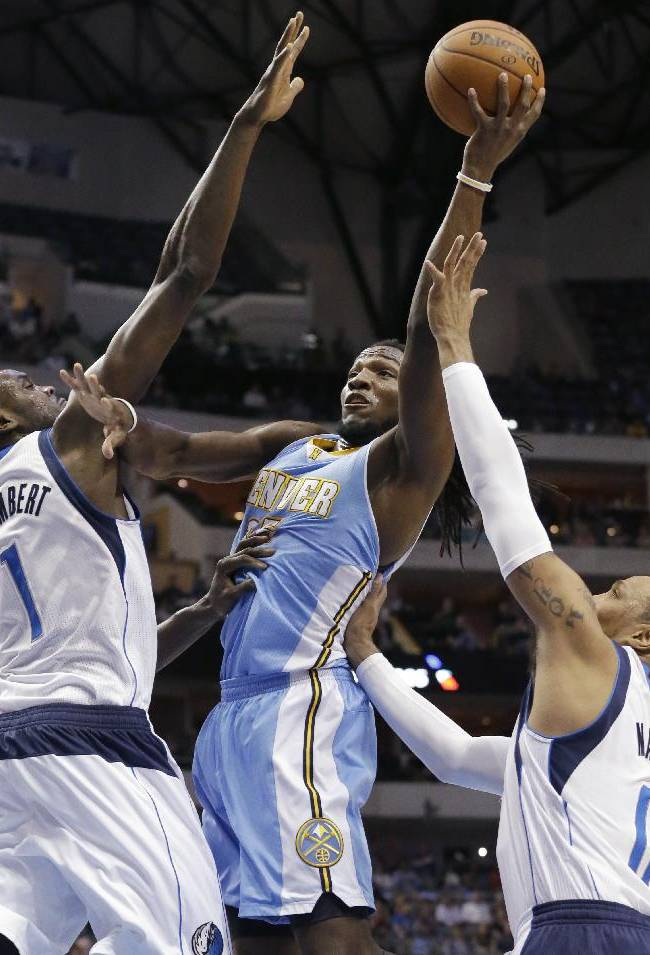 Ellis, Mavs put away Nuggets in 4th, win 122-106