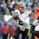 Browns' Hoyer takes over for injured Manziel at QB (Yahoo Sports)