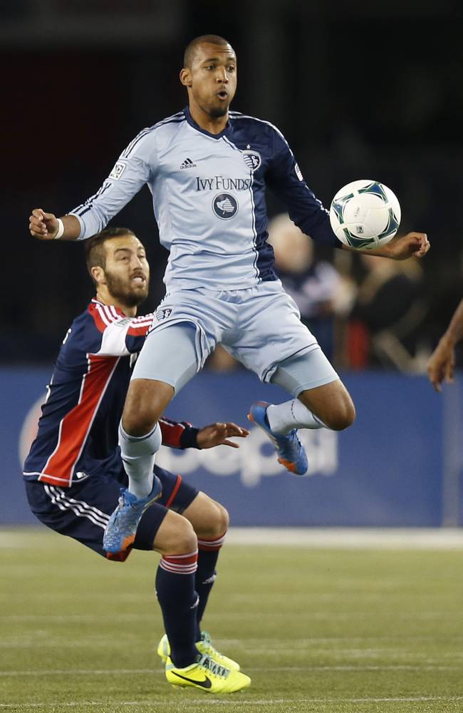 Sporting KC trades Bunbury to Revolution for pick