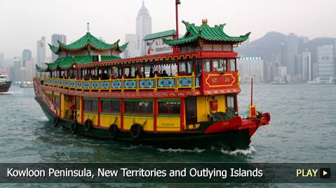 Hong Kong's Kowloon Peninsula, New Territories and Outlying Islands