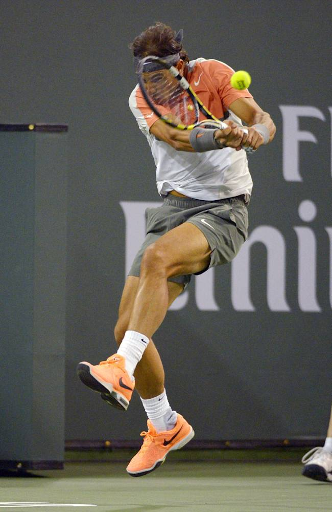 Federer, Nadal, Murray advance at Indian Wells