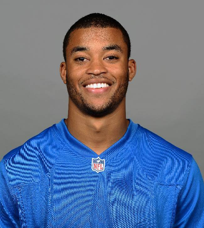 This is a 2013 photo of Brian Robiskie of the Detroit Lions NFL football team. This image reflects the Detroit Lions active roster as of Tuesday, June 11, 2013 when this image was taken. (AP Photo)