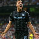 Mancini: Dzeko would be prolific in Serie A