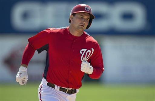 Zimmerman hits 3 HRs, powers Nationals over Braves