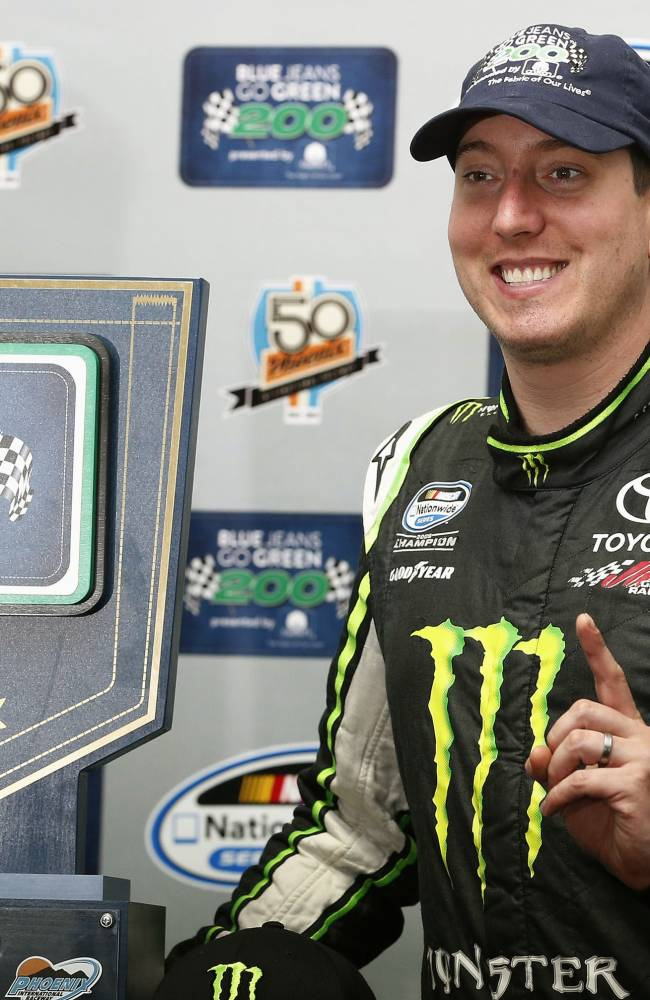Kyle Busch would love to try Kurt's double someday