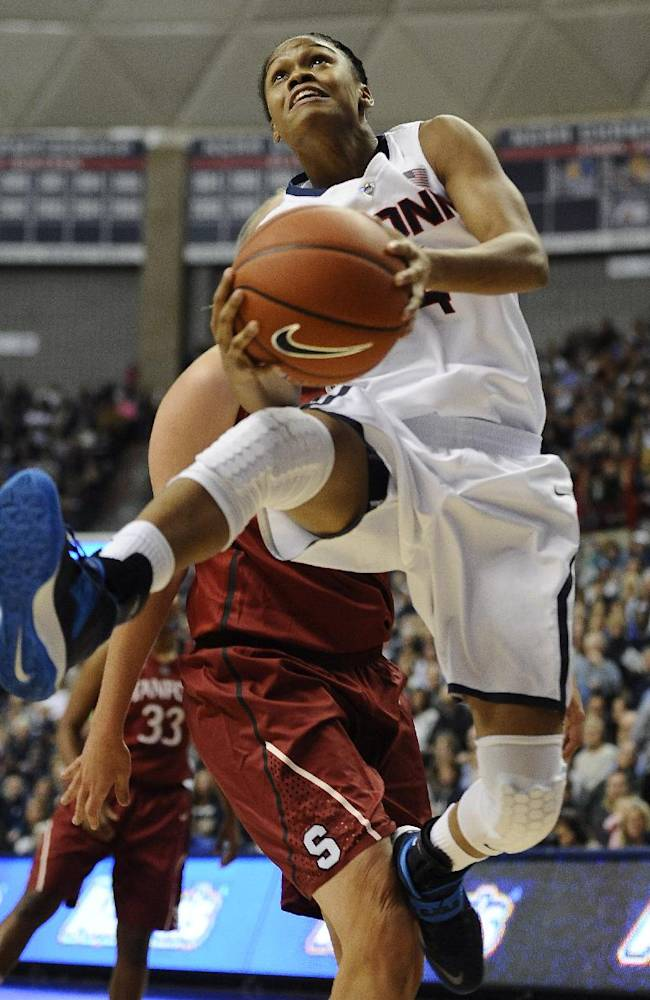 No. 1 UConn women beat No. 3 Stanford