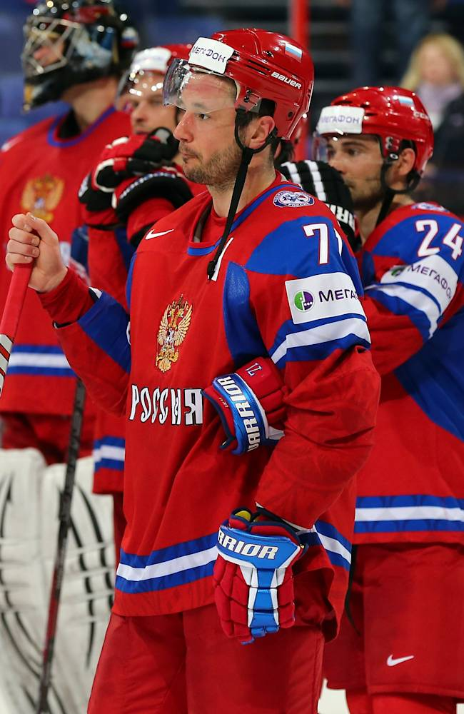 Russia v France - 2013 IIHF Ice Hockey World Championship