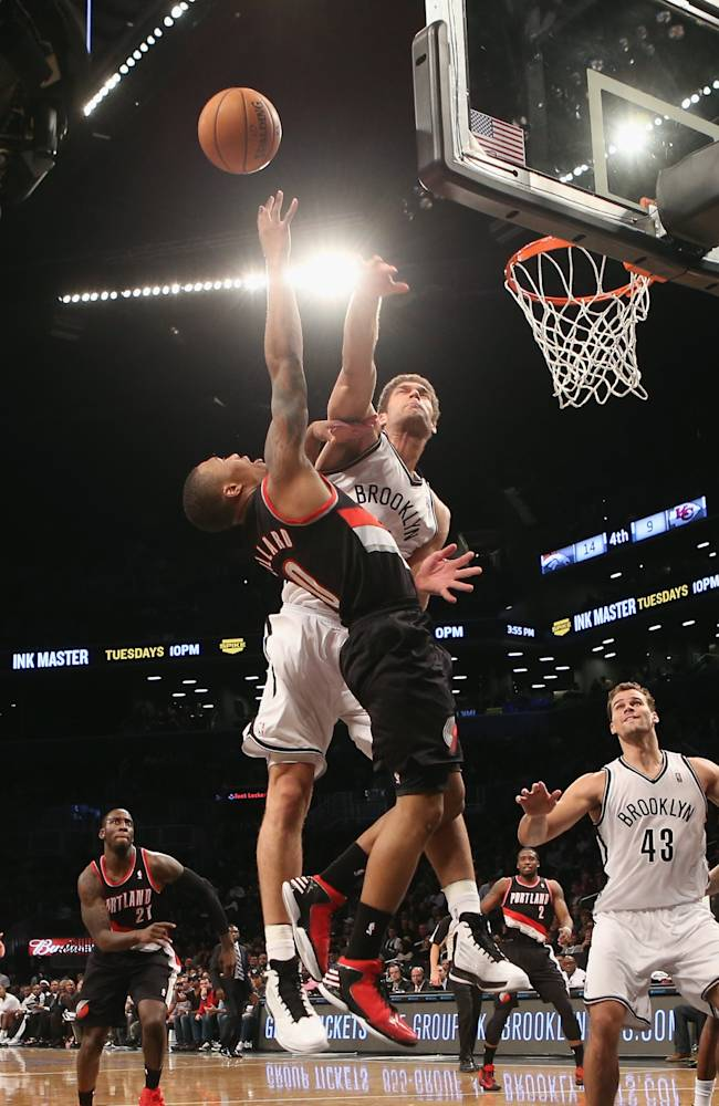Portland Trail Blazers v Brooklyn Nets
