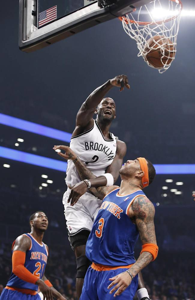 Knicks crush Nets in 1st meeting this season