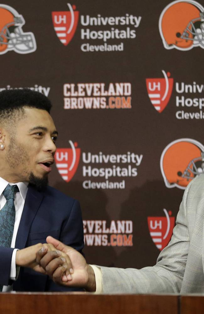 Haden happy with contract, Manziel joining Browns