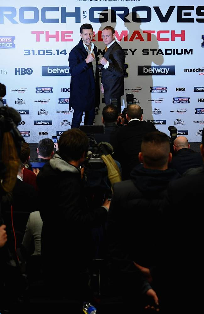 Carl Froch v George Groves - Wembley Press Conference