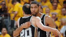 Spurs react to series-clinching win