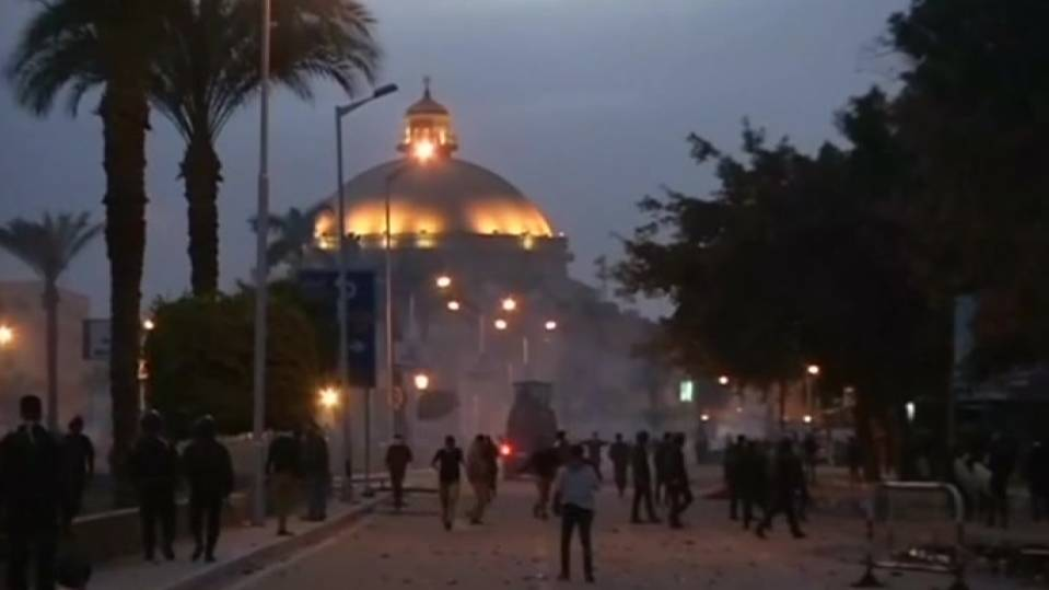 Egypt police fire tear gas to disperse university protesters