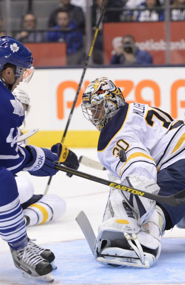 Kessel, Leafs get brawl-marred 5-3 win vs Sabres