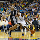 San Antonio Spurs v Memphis Grizzlies - Game Three Getty Images