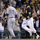 Martin's homer sparks Pirates over Brewers 4-2 The Associated Press