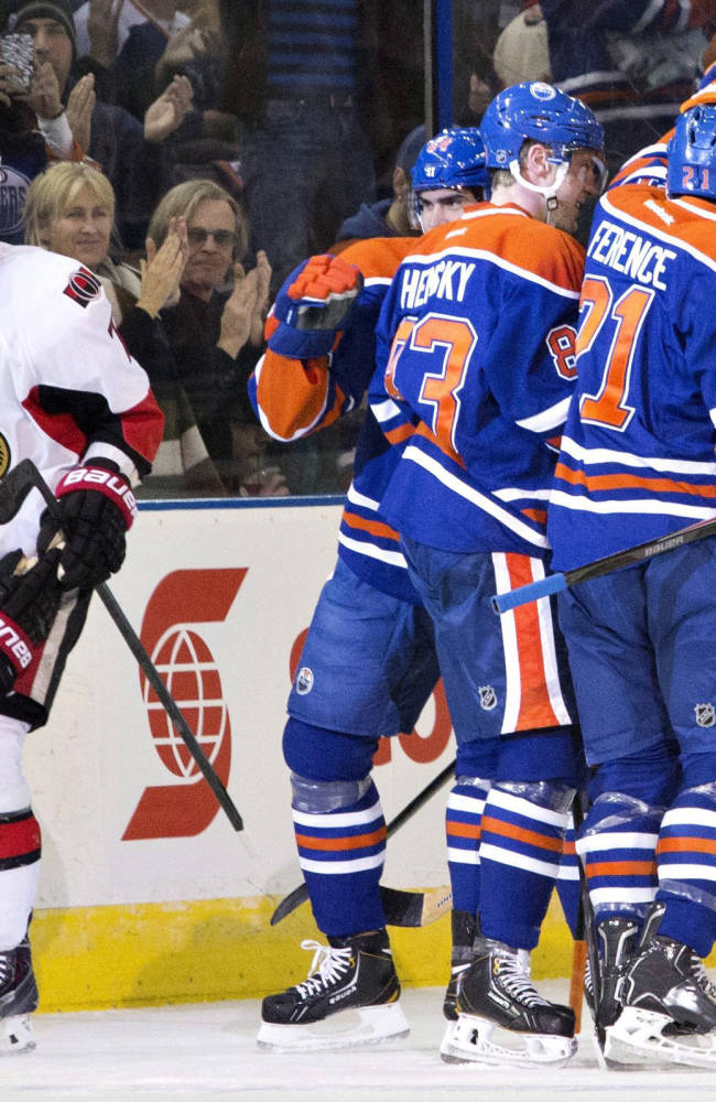 Hemsky, Oilers slip past Senators 3-2