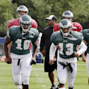 Maclin beats Revis for TD in Eagles-Pats practice The Associated Press