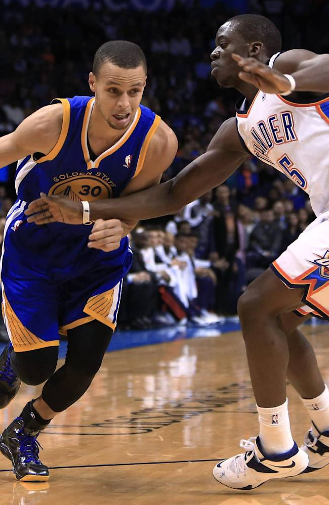 Durant scores 54, Thunder beat Warriors