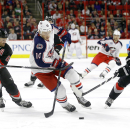 Hurricanes beat Blue Jackets 3-2 in overtime The Associated Press