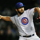 Arrieta takes no-hitter into 8th, Cubs blank Reds The Associated Press