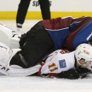 Tanguay, Varlamov guide Avalanche to 3-2 win over Flames The Associated Press