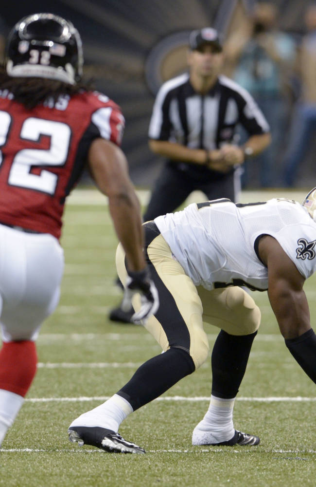 Defense helps Saints beat Falcons 23-17