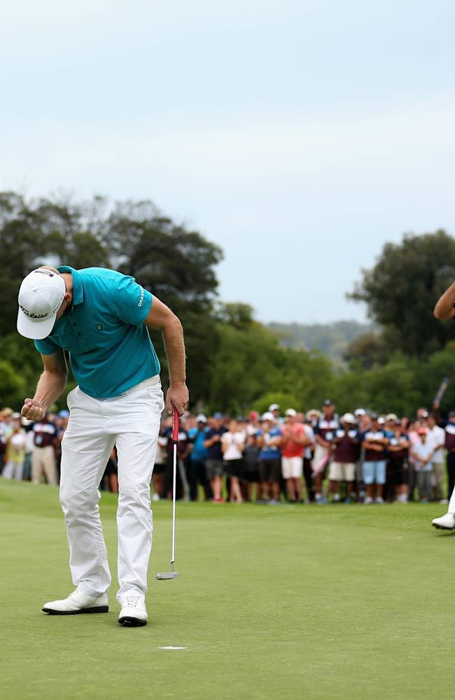 South African Open Championship - Day Four