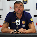 FC Barcelona Head Coach Luis Enrique in action on Tuesday,July,28, 2015, in Landover, Maryland. Chelsea and FC Barcelona face off at the 2015 International Champions Cup. Damian Strohmeyer/AP Images for International Champions Cup