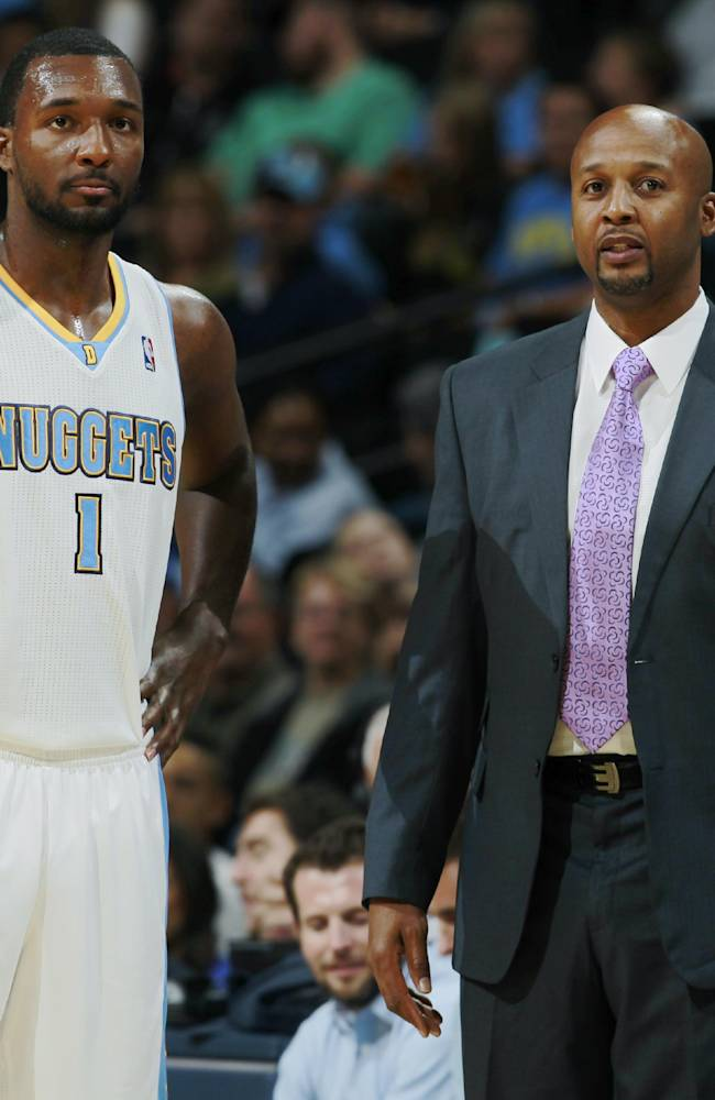Faried leads Nuggets to preseason win over Spurs