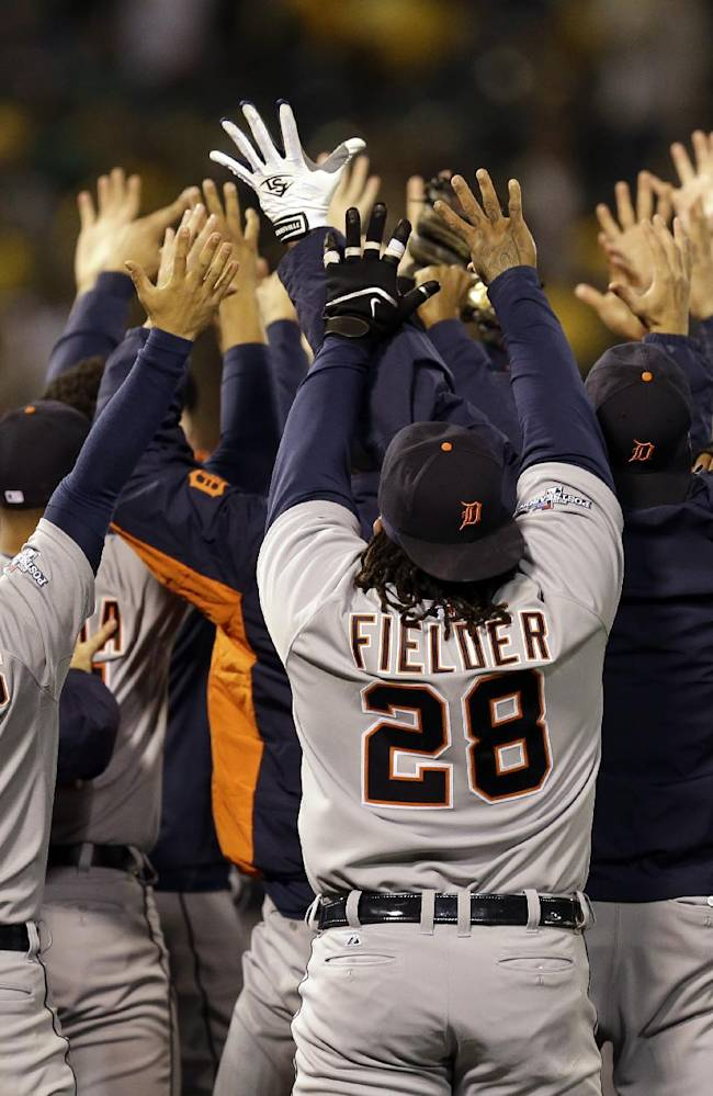Verlander sends Tigers past A's in Game 5 gem