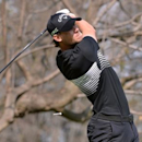 Mar 5, 2017; Mexico City, MEX; Thomas Pieters plays his shot from the 15th tee during the final round of the WGC - Mexico Championship golf tournament  at Club de Golf Chapultepec.  Orlando Ramirez-USA TODAY Sports