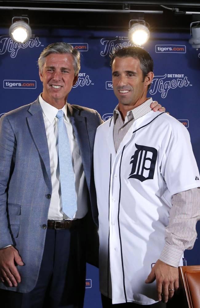 Detroit Tigers hire Brad Ausmus as manager