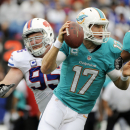 Miami's Tannehill upset with way he has played The Associated Press