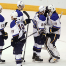 Blues rally past Coyotes 4-2 in Miller's debut The Associated Press