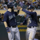 Mariners hit 4 HRs in 9-5 win over A's The Associated Press