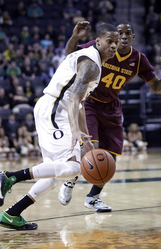Oregon hangs on for an 85-78 win over Arizona St