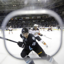 Sharks use 5-goal second to beat Ducks 6-3 The Associated Press