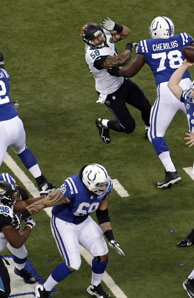 Colts get back in sync just in time for playoffs