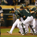 A's beat Mariners on Crisp's homer in 12th The Associated Press