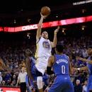 Oklahoma City Thunder v Golden State Warriors Getty Images