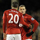 Everyone at Manchester United wants Rooney to stay, says Van Persie