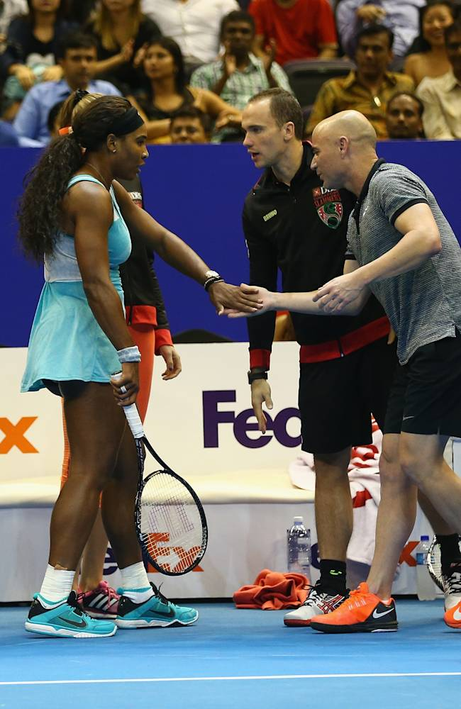 Coca-Cola International Premier Tennis League - Singapore: Day Three