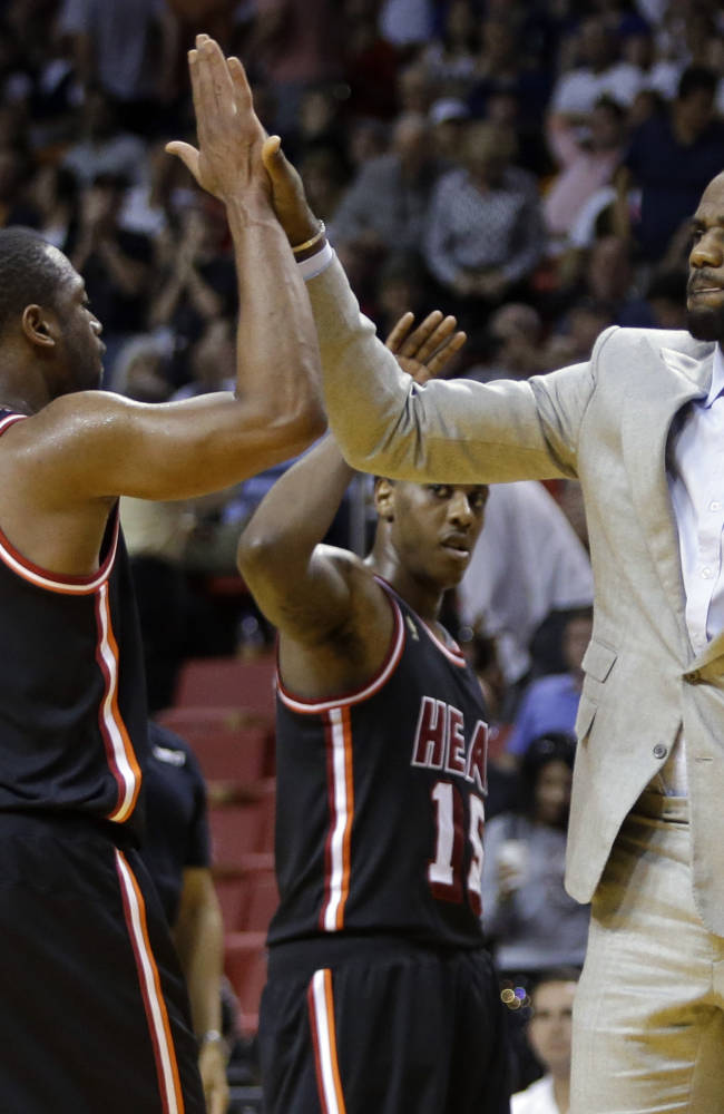 James expects to rejoin Heat lineup Thursday