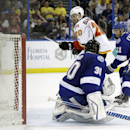 Ramo stops 31 shots to lead Flames past Lightning The Associated Press