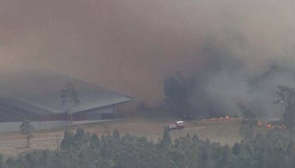 Firefighters battle bushfires in Australia